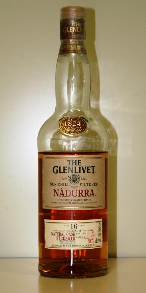 グレンリベット16年 ナデューラ