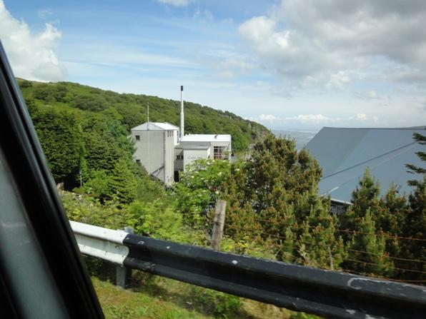 カカリラ蒸留所 車から撮影リラ蒸留所 車から撮影
