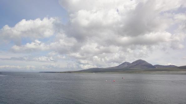 アイラ海峡とジュラ島