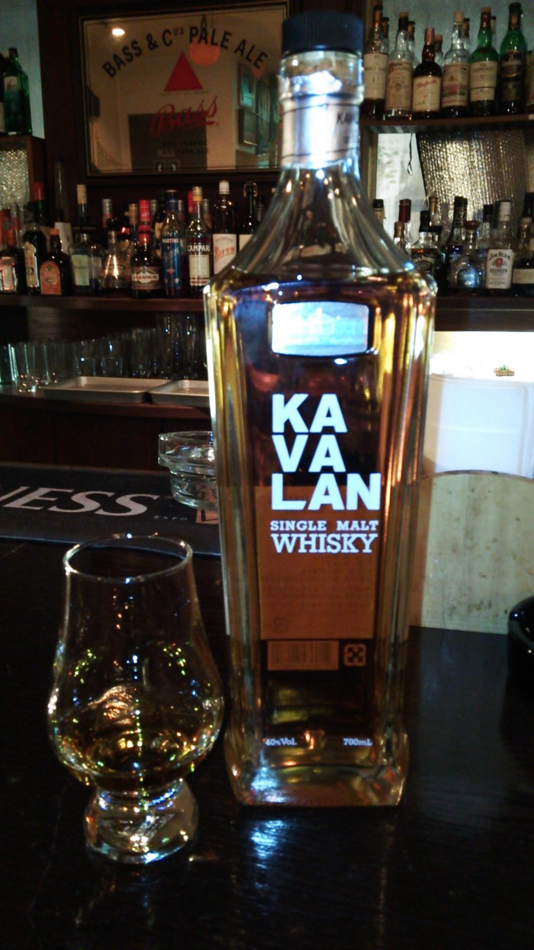 カバラン(カヴァラン・KAVALAN) シングルモルト・ウイスキー 40%