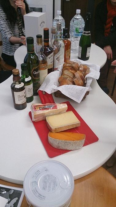 チーズ(コンテ、ミモレット、パルミジャーノ・レッジャーノ)