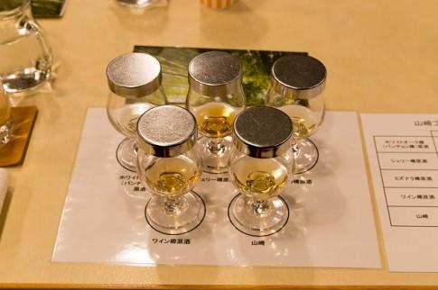 山崎蒸留所セミナー 原酒