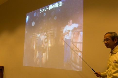 山崎蒸留所セミナー シェリー樽の製造