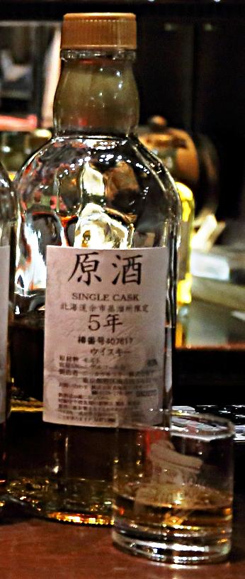 余市 原酒 シングルカスク 5年 63% カスクナンバー407619
