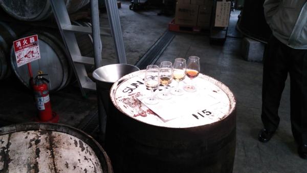 若鶴酒造(三郎丸蒸留所)テイスティング 平成25年当時