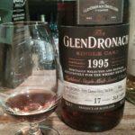 グレンドロナック1995~2013 17年 カスクナンバー4682 ペドロヒメネスシェリーパンチョン