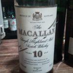 マッカラン10年 100プルーフ(57%) 80年台流通