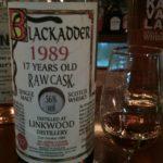 リンクウッド1989 17年 57% シェリー  / ブラックアダー ロウカスク