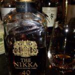 ザ・ニッカ 40年 43% (ブレンデッドウイスキー)